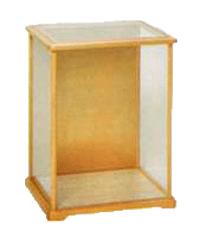 白塗り木製ケース